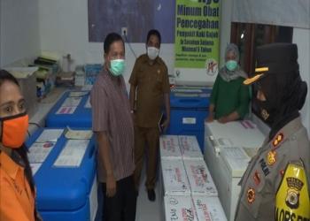 Pemda Maluku Tengah Terima 4.040 Vial Vaksin Sinovac