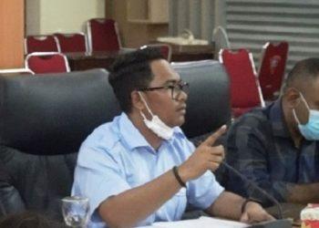 Wakil Ketua Komisi II DPRD Kota Ambon Hary Far Far