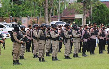 600 Personel Gabungan Siaga Amankan Kunker Panglima TNI dan Kapolri ke Papua