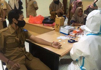 Dinkes Kota Ternate : Tingkat Capaian Vaksinasi COVID-19 ASN Melebihi Target