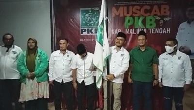 Mayoritas Suara Percayakan Tuahuns Kembali Pimpin PKB Maluku Tengah