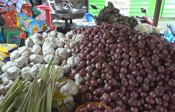 Harga Bawang di Pasar Tradisonal Ambon Cenderung Turun