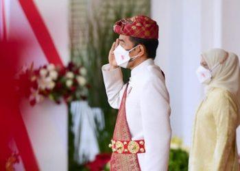 Presiden Jokowi Pimpin Peringatan Detik-Detik Proklamasi Kemerdekaan Republik Indonesia