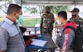 Satgas Covid Malteng Perketat Pemeriksaan Penumpang Di Pelabuhan Antar Pulau