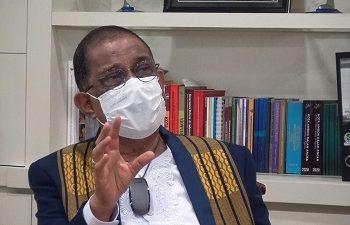 Walikota Apresiasi TNI POLRI Dukung Vaksinasi Di Kota Ambon