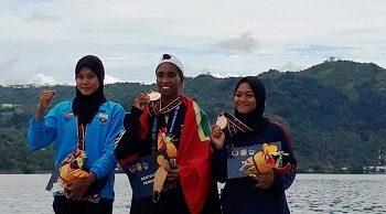 Chelsea Corputty Persembahkan Emas Pertama Bagi Kontingen Maluku