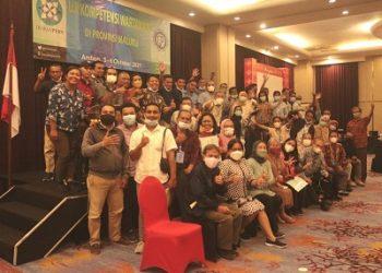 42 Jurnalis di Maluku Lulus UKW Dinyatakan Kompeten