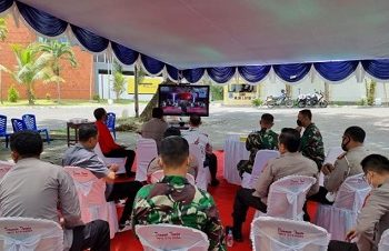 Panglima TNI Beri Apresiasi Untuk Kapolda Malut Dalam Percepatan Vaksinasi COVID-19