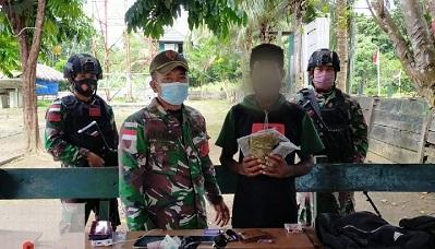 Prajurit TNI Gagalkan Penyelundupan Narkotika di Perbatasan RI-PNG
