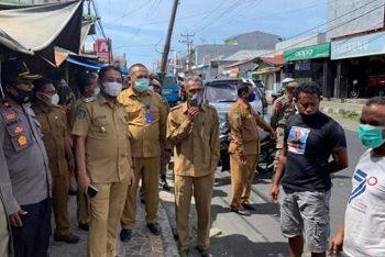 Wabup Halut Sosialisasi Penertiban Lalu lintas di Kota Tobelo